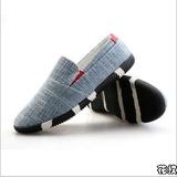 7 春秋新款休闲鞋 男士一脚蹬乐福鞋男鞋 超轻透气懒人鞋潮鞋子